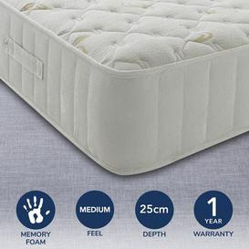 image-Ultimate Orthopaedic 1400 Pocket Mattress Cream (Natural)