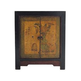 image-Recycled wood cabinet W 60cm Shanghaï