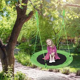 image-Maximillian Swing Seat Freeport Park Colour: Green