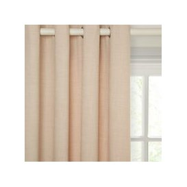 image-John Lewis & Partners Barathea Pair Lined Eyelet Curtains