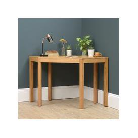 image-Chalford Oak Corner Desk