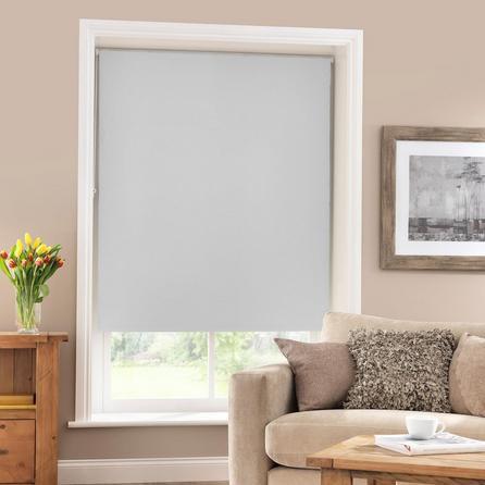 image-Grey Blackout Roller Blind Grey