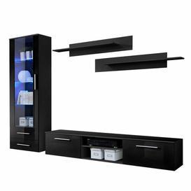 "image-Casandra Entertainment Unit for TVs up to 43\"" Sol 72 Outdoor Colour: Black"