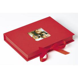 image-Fun Photo Album Symple Stuff Colour: Red