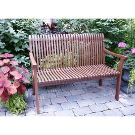 image-Amaury Venetian Wooden Bench Sol 72 Outdoor