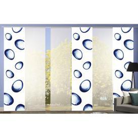 image-Randall Room Darkening Panel Curtains Ebern Designs Colour: Blue