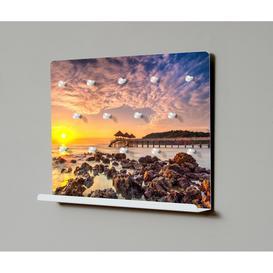 image-Glowe 40 Motiv M106 Sunset Key Hook