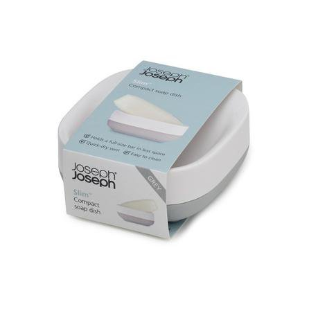image-Joseph Joseph Grey Compact Soap Dish Grey