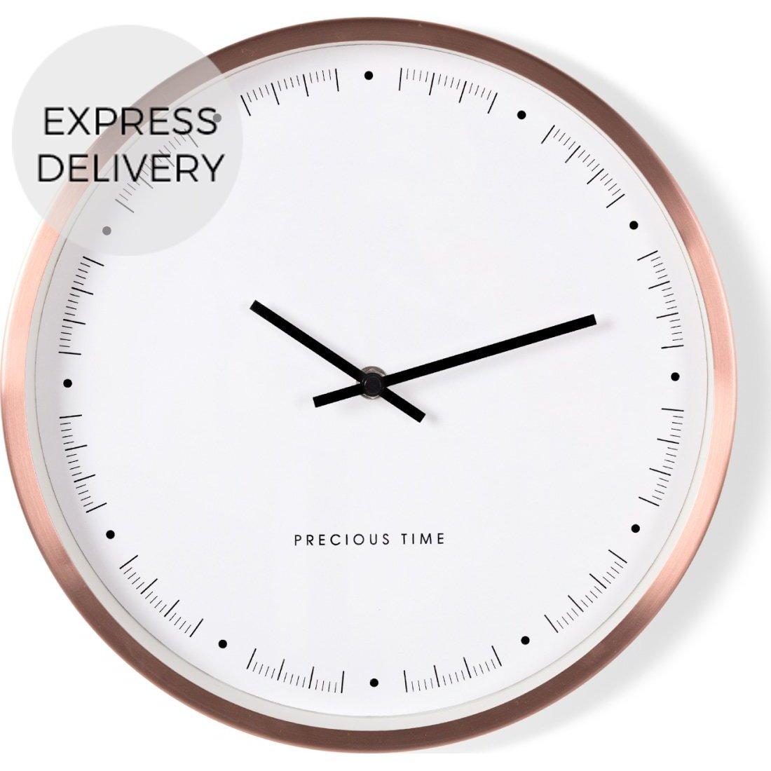 image-Aurelia Wall Clock, Copper