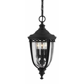 image-Thynes 3 Light Outdoor Hanging Lantern Sol 72 Outdoor Finish: British Bronze, Size: Medium