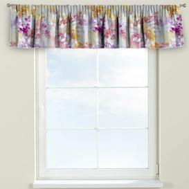 image-Monet Curtain Pelmet Dekoria Size: 130cm W x 40cm L, Colour: Purple/Pink/Orange