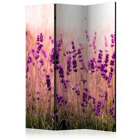 image-Omara Lavender in the Rain Room Divider Mercury Row Number of Panels: 3