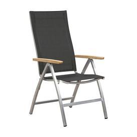 image-Hash Folding Garden Chair Sol 72 Outdoor Textile Colour: Black