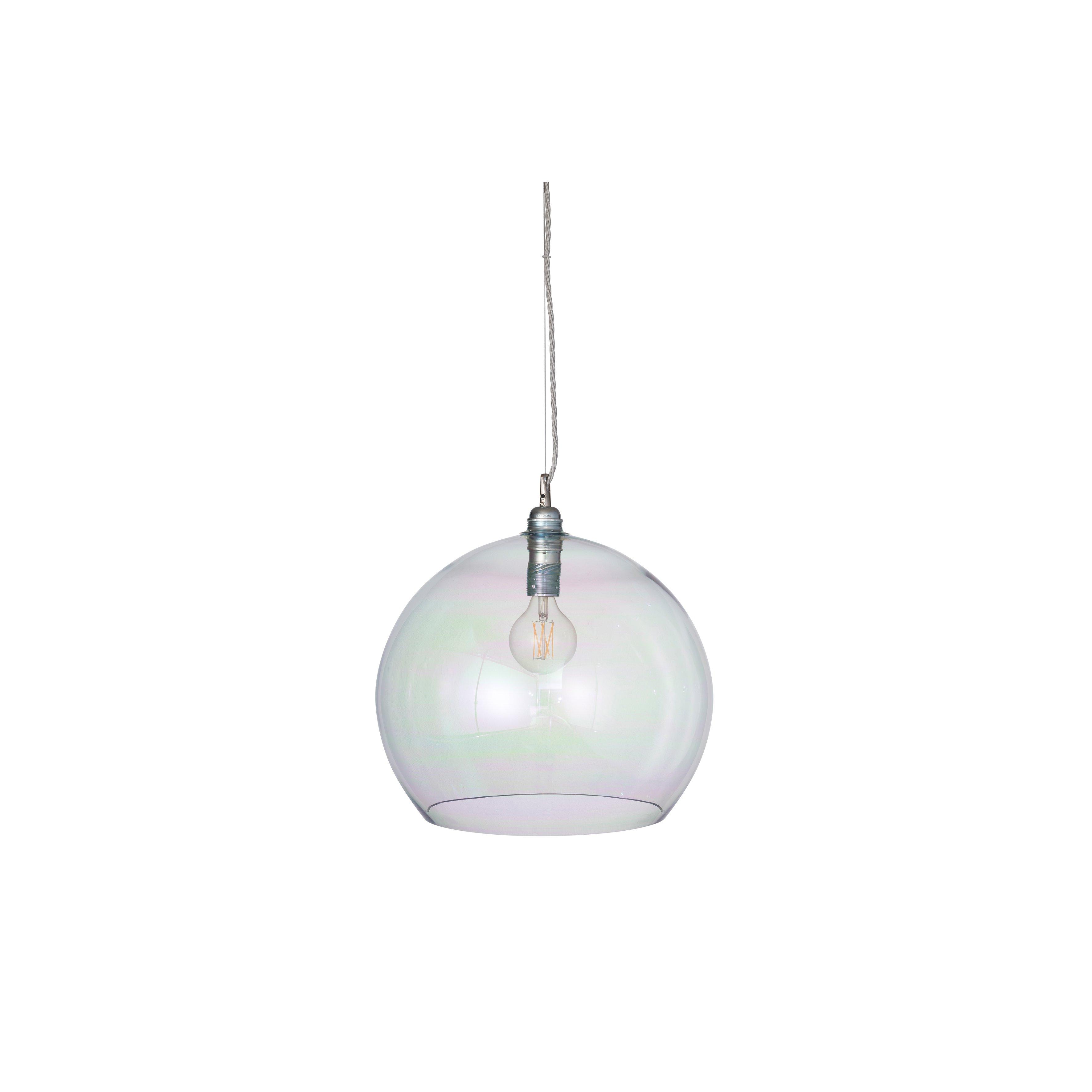 image-Rowan Pendant Lamp 39cm , Chameleon / Silver
