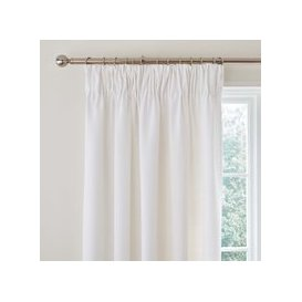 image-Vermont White Pencil Pleat Curtains White