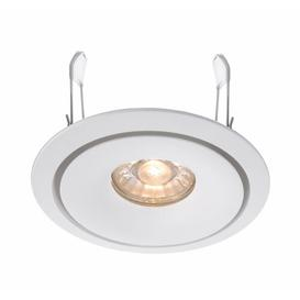 "image-Caeli 10"" LED Slim Profile Recessed Lighting Kit Deko Light Colour: White"