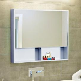 image-Hettie 90cm x 75cm Surface Mount Mirror Cabinet Belfry Bathroom