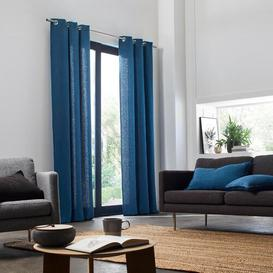 image-Eaddy Eyelet Room Darkening Single Curtain Marlow Home Co. Colour: Brick, Panel Size: 135 W x 280 D cm
