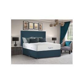 "image-Sleepeezee PocketGel Immerse 2200 Divan Set - Single (3' x 6'3\""), Side Opening Ottoman, Sleepeezee_Plush Light Blue"