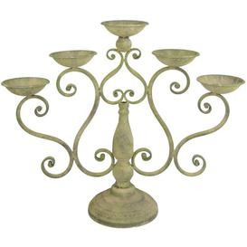 image-Aged Metal Candelabra Astoria Grand