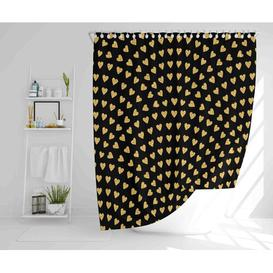 image-Weisman Polyester Shower Curtain Set Ebern Designs