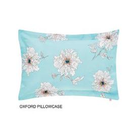 image-Joules Bedding, Linear Peony Oxford Pillowcase