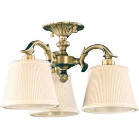image-Cranmer 3 Light Semi-Flush Ceiling Light Astoria Grand Finish: Antique Silver