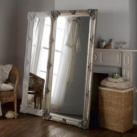 image-Yearn Baroque Leaner Mirror 81x173cm Silver Silver