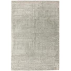image-Asiatic Carpets Kingsley Hand Woven Rug Silver - 200 x 300cm