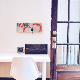 image-Love Key Hook Brambly Cottage