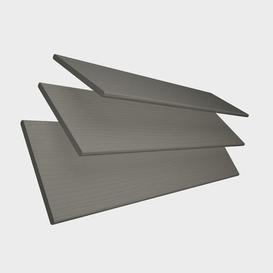 image-Faux Wood Sheer Venetian blind Ebern Designs Finish: Dark Grey, Size: 120 cm L  x 90 cm W