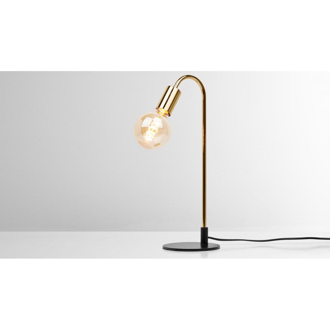 image-Octavia Table Lamp, Brass