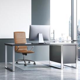 image-Cleartex Heavy Duty Hard Floor Straight  Chair Mat Floortex