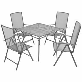 image-Circe 4 Seater Dining Set Sol 72 Outdoor