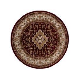 image-Antalya Traditional Circle Rug Red