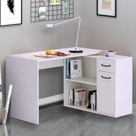image-Edny L-Shape Executive Desk