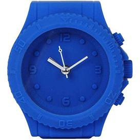 image-Just 4 Kids Silicone Mantel Clock - Blue Watch Style