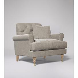 image-Swoon - Sidbury - Armchair in Llama - Smart Wool