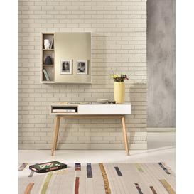 image-Host Console Dressing Table, White