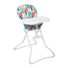 image-Graco Snack N Stow Highchair - Paintbox