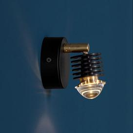 image-EC 301 Wall light - / LED - Articulated by Catellani & Smith Black
