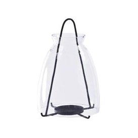 image-Libra Clear Glass Small Lantern - Xmas-18