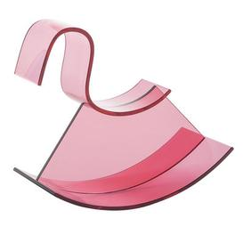 image-H-Horse Rocking horse by Kartell Pink