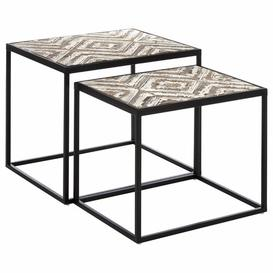image-Jacques 2 Piece Nest of Tables Bloomsbury Market