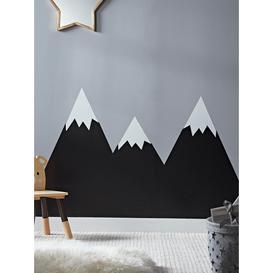 image-Chalk Board Mountain Wall Stickers