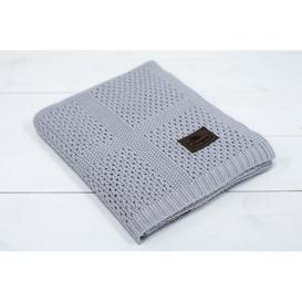 image-Elodie Baby Blanket Isabelle & Max Colour: Grey