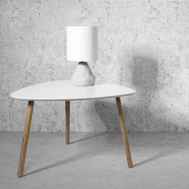 image-Malme Coffee Table in White and Natural Pine