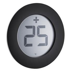 image-Outdoor thermometer - / Sticker - For window by Eva Solo Black,Steel