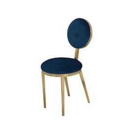 image-Ravello Dining Chair - Navy Blue