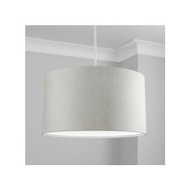 image-Made to Order 50cm Cylinder Shade Renzo Silver